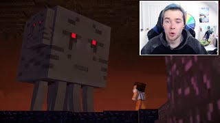 Youtubers React To The Giant Enderman Minecraft Story Mode
