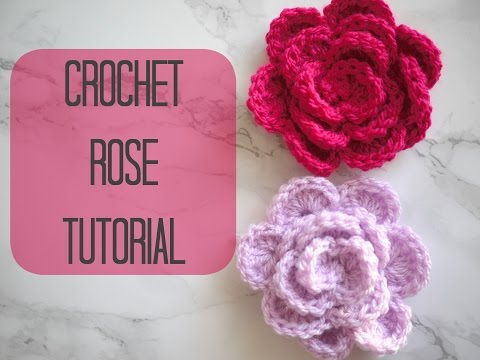 CROCHET: How to crochet a rose/flower | Bella Coco