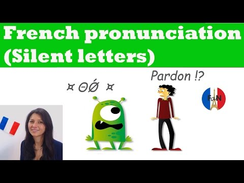 French pronunciation (Silent letters)