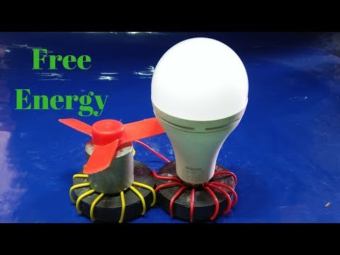 how to make free energy generator at home with magnet