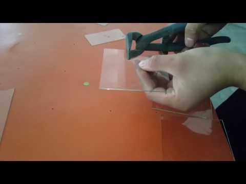 heart shape glass cutting