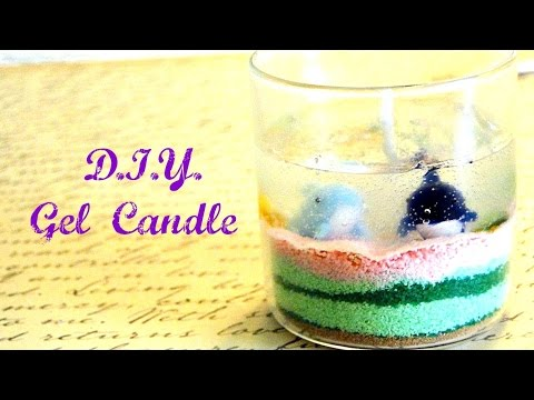DIY gel candle-first try on candle DIYs!!