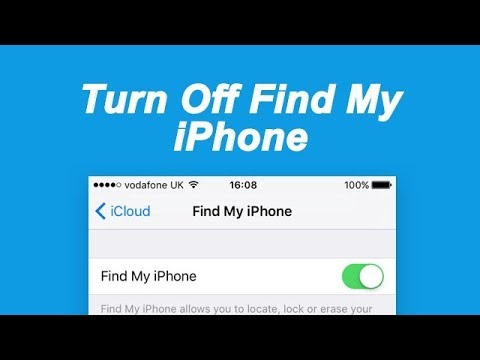 How to Turn Off/ Disable/Deactivate Find My iPhone on iOS 11/10/9/8/7?