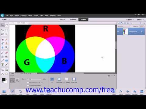 Photoshop Elements 12 Tutorial Color Management Adobe Training Lesson 5.3
