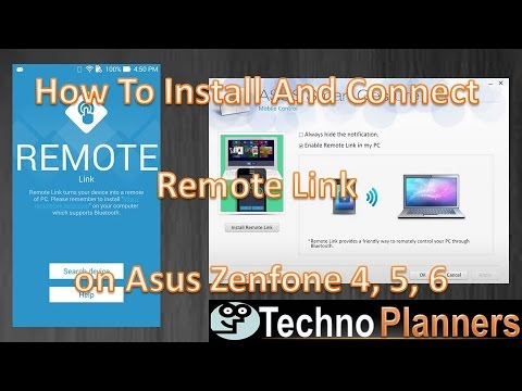 How To Install And Connect Remote Link on Asus Zenfone