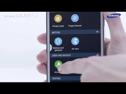 Samsung Galaxy S5   How To: Use the Settings Menu