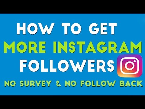 How To Get More Followers On Instagram 2016 No Survey No Following Other
