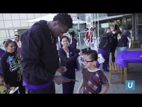 Lakers Visits UCLA Mattel Children's Hospital | UCLA Health