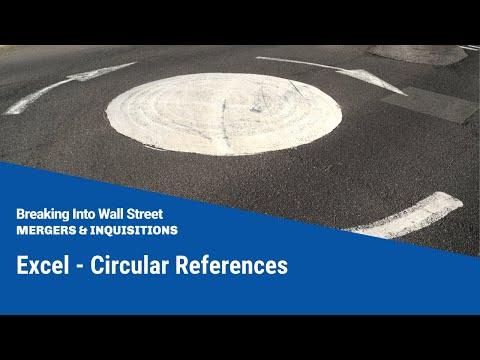 Excel - Circular References