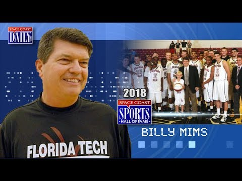 Billy Mims: 2018 Space Coast Sports Hall of Fame