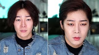 JBJ Kwon Hyun Bin Cover Makeup ft. 채봉원 - Edward Avila