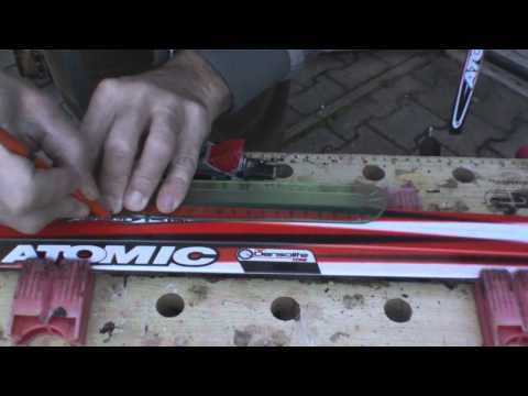 Mounting Cross Country Ski Bindings