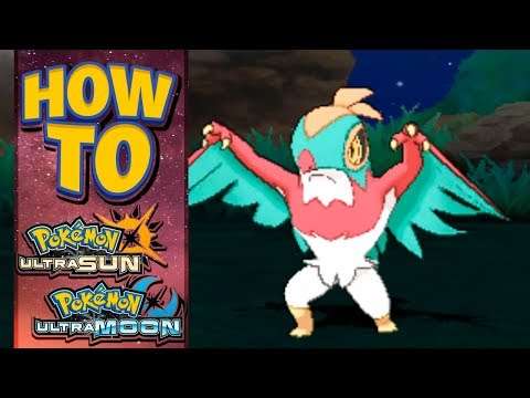 HOW TO GET Hawlucha in Pokemon Ultra Sun and Moon