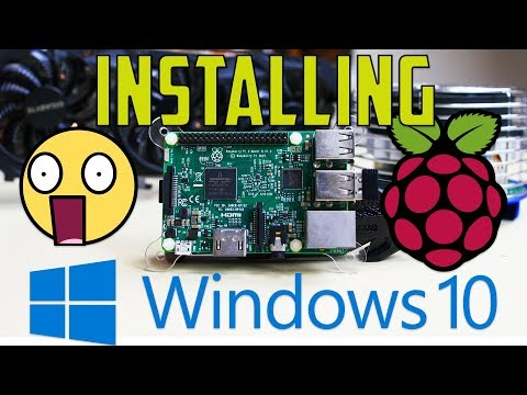 How To Install Windows 10 On a Raspberry Pi 3 (REAL VERSION NOT IoT)