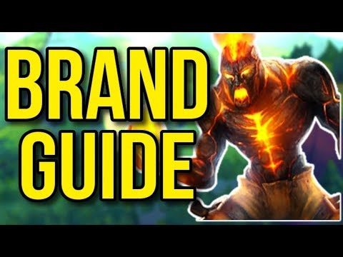 Brand Challenger Champion Guide | How to Play Brand Support Season 8 - League of Legends