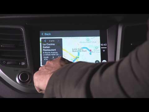Hyundai Tucson Apple CarPlay Business Insider