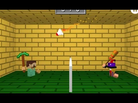 MINECRAFT BADMINTON GAME WALKTHROUGH