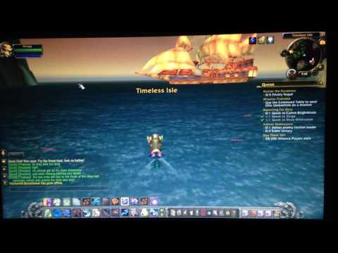 World of Warcraft: Pandaria to Draenor Teleport Secret