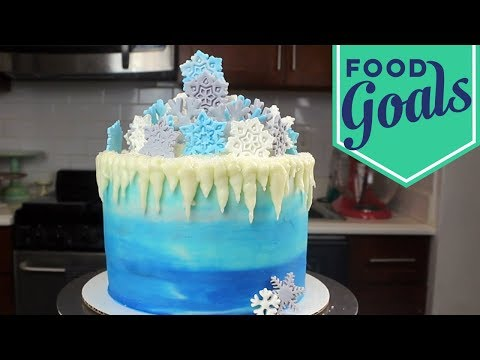 How to Make a Winter Wonderland Cake | Food Network