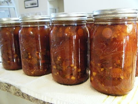 FOOD STORAGE - Canning Delicious Beef Vegetable Soup