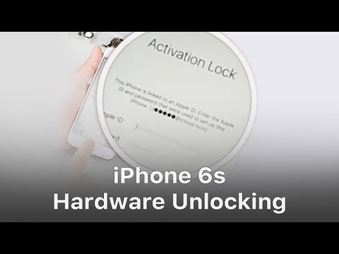 iPhone 6s Hardware Unlock / Bypass iCloud
