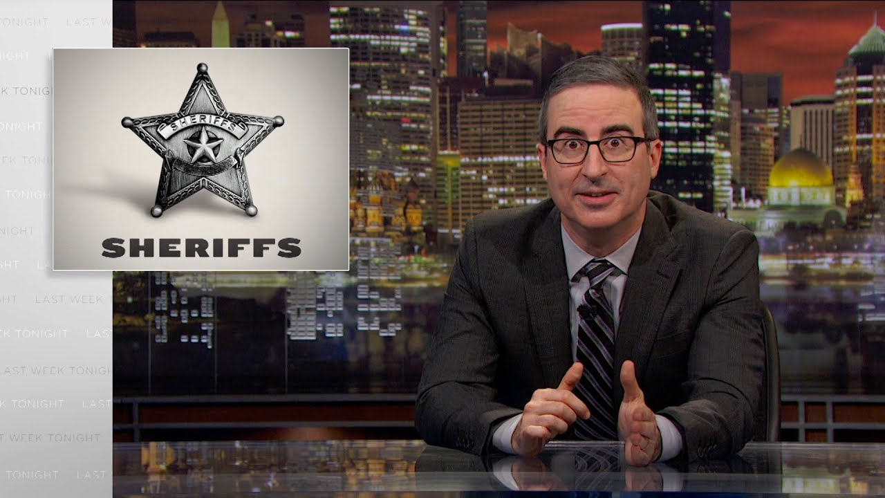 Sheriffs: Last Week Tonight with John Oliver (HBO)