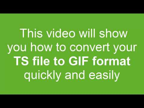 How to Convert TS to GIF