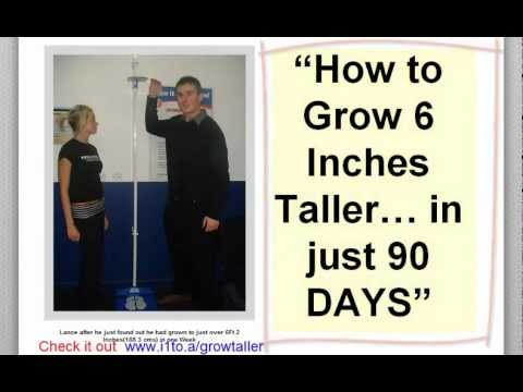How to grow Taller Yes get taller