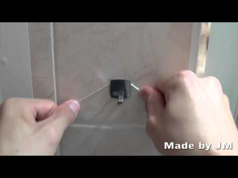 How to remove double sided tape
