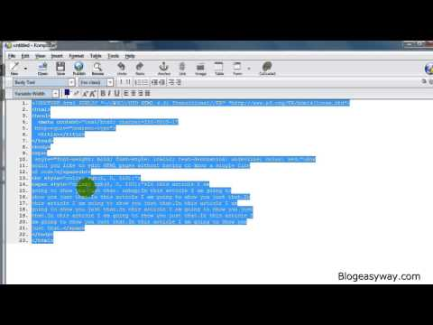 Add HTML Code to the Editor Tab - Wordpress