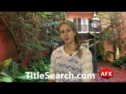 Property title records in Orleans Parish Louisiana | AFX