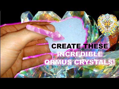 HOW TO MAKE ORMUS CRYSTALS! - Formulating crazy powerful Ormus! - Secret recipe!