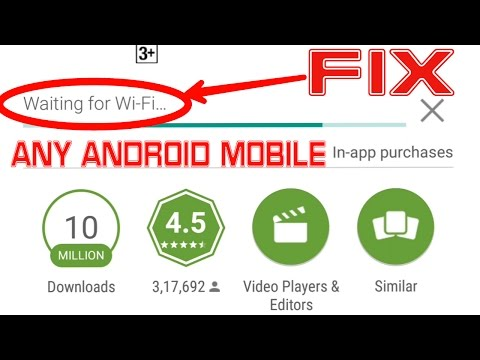 FIX Waiting For WiFi In Google PlayStore