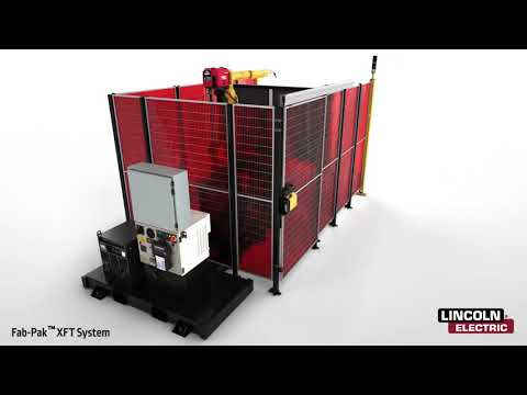 Fab-Pak XFT Robotic Welding Cell