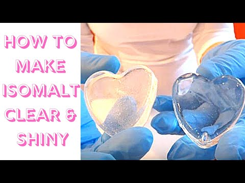 Video Tutorial: Learn How To Make Your Isomalt Clear, Shiny and Sparkly