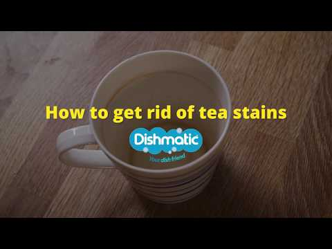Cleaning Hack | Getting Rid Of Tea Stains - Clean Your Mugs | Dishmatic - Your Dish Friend