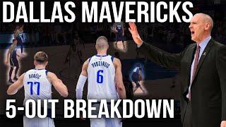 Dallas Mavericks 5 Out Offense   Film Room