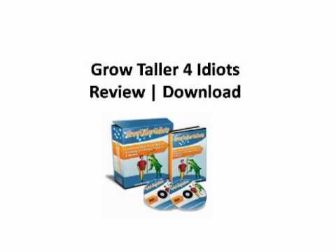Grow Taller 4 Idiots | Download | Review