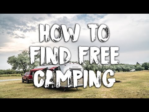 How To Find Free Camping - How We Find All Our Airstream Boondocking Spots