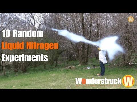 10 Random Liquid Nitrogen Experiments