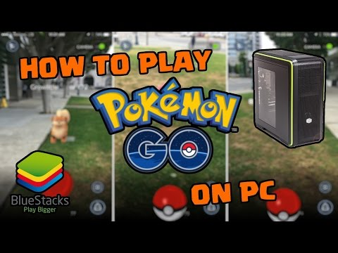 How to play Pokémon GO on PC/Mac with Bluestacks! [WITH CRASH/FREEZE FIXES]
