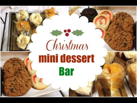 Mini Christmas Dessert Bar Ideas - I Heart Recipes