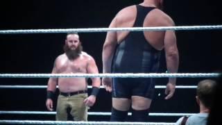 WWE 2016 Strasbourg - Match Braun Strowman Vs. Big Show