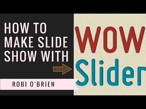 How to Make a Interactive Slideshow With WowSlider And Add it On Blog