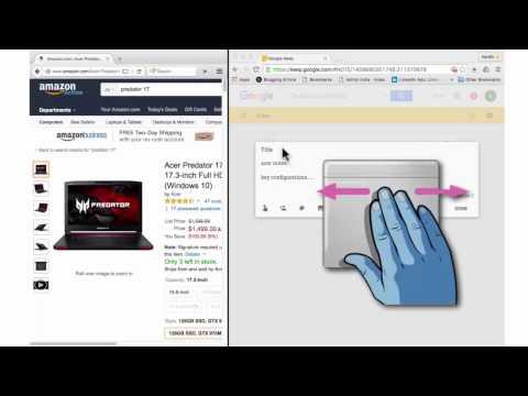 How to split screen on MacBook PRO ?  3 methods demonstrated