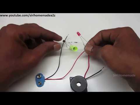 Laser Security Alarm   How to make a Laser Light Security Al