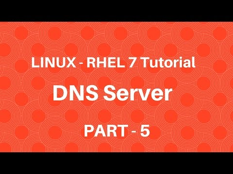 Linux in Hindi - RHEL 7 - DNS Server - Part 5 - Seven Layer Technologies