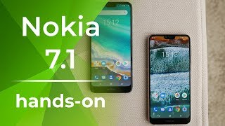 Nokia 7.1 Hands On: Mid-range Beauty with Some Tricks