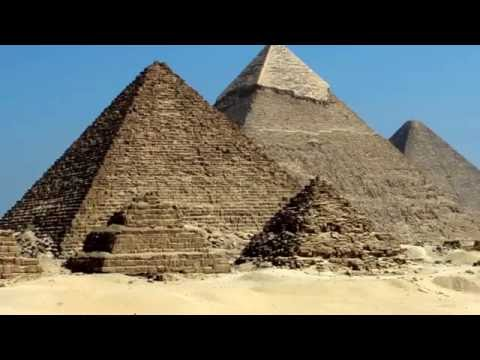 Giza pyramid complex - Cairo, Egypt