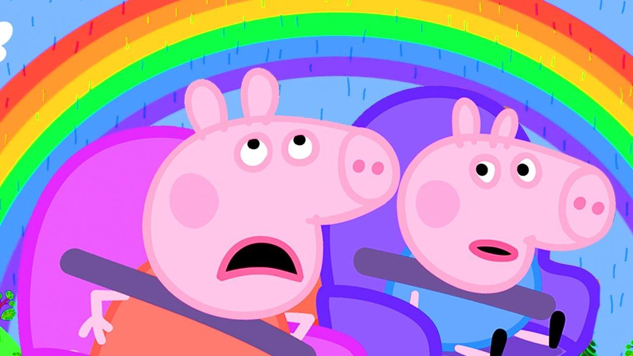 Der Regenbogen 🌈 Ganze Episoden | Cartoons für Kinder | Peppa Wutz Neue Folgen
